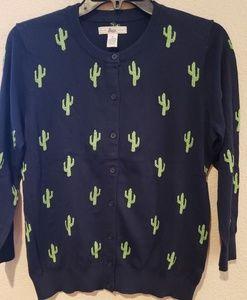 G.H. Bass Cactus Cardigan